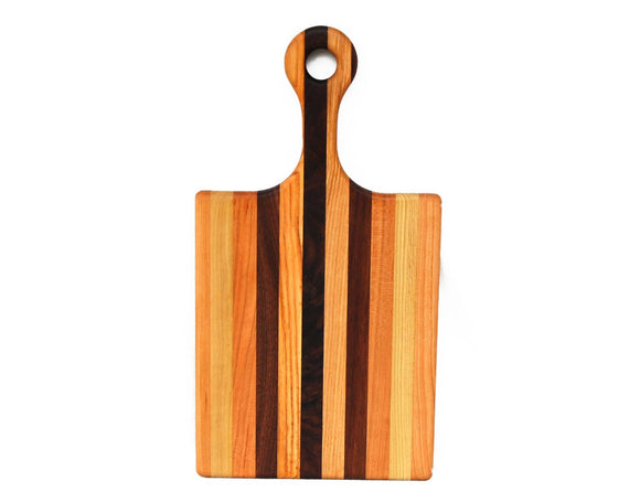 Classic End Grain Handled Cutting Board Small