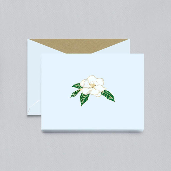 Engraved Magnolia Pearl White Boxed Notes