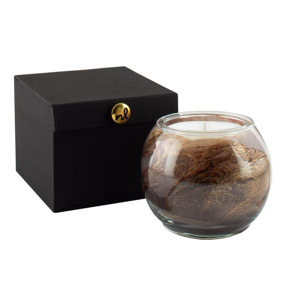 Esque Candle Globe Amber Sandalwood