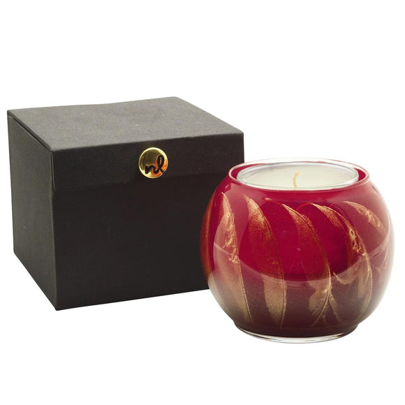 Esque Candle Globe Cranberry