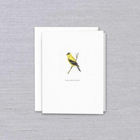 Goldfinch Pearl White Boxed Vertical Notes