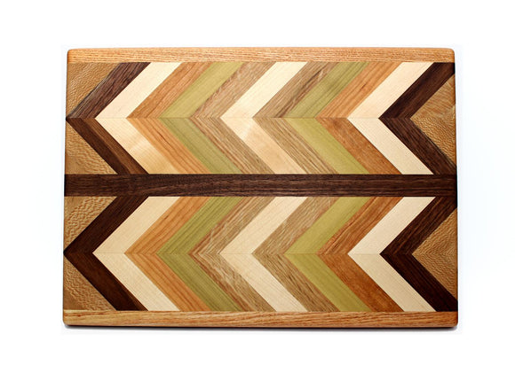 Herringbone End Grain Medium Cutting Board