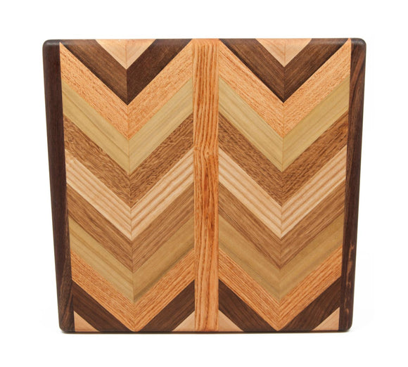 Herringbone End Grain Small Cutting Board