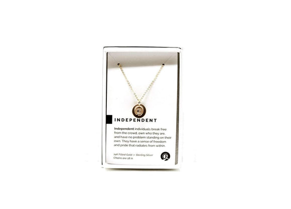 Independent Necklace Gold