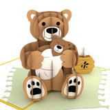Baby Bear 3D Pop Up card