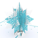 Snowflake 3D Pop Up card