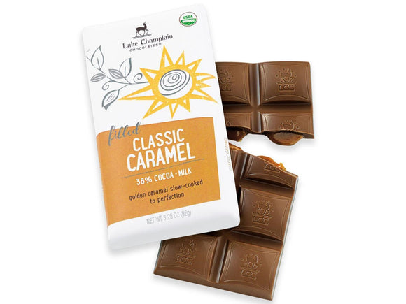 Lake Champlain Chocolates Caramel Filled Milk Chocolate Bar