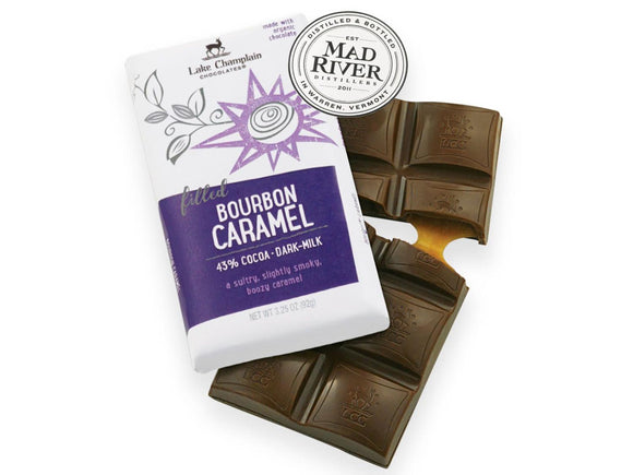 Lake Champlain Chocolates Chocolate Bourbon Caramel Bar