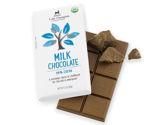 Lake Champlain Chocolates Milk Chocolate Bar