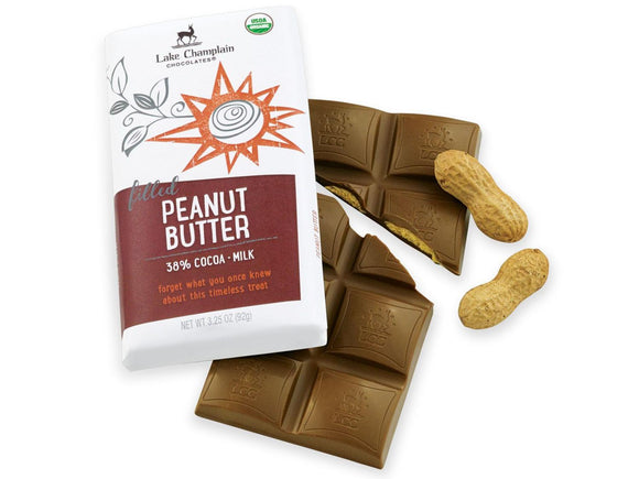 Lake Champlain Chocolates Milk Chocolate Peanut Butter Bar