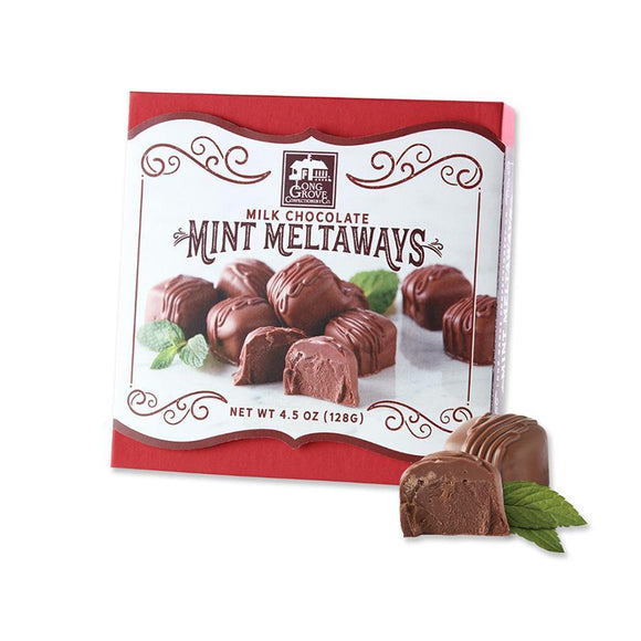 Long Grove Confectionery Milk Chocolate Mint Meltaways