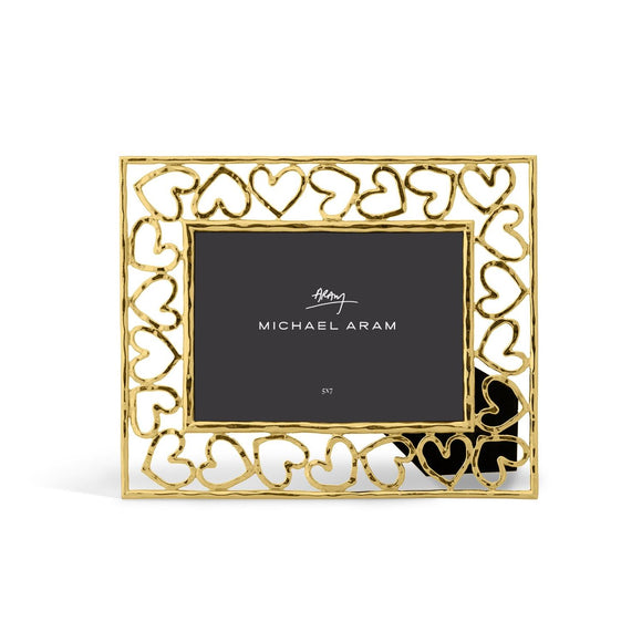 Michael Aram Heart Frame 5x7 Gold