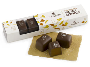 Milk Chocolate Sea Salt Caramels 7pc