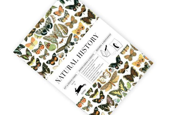 Natural History Gift and Creative Papers Book