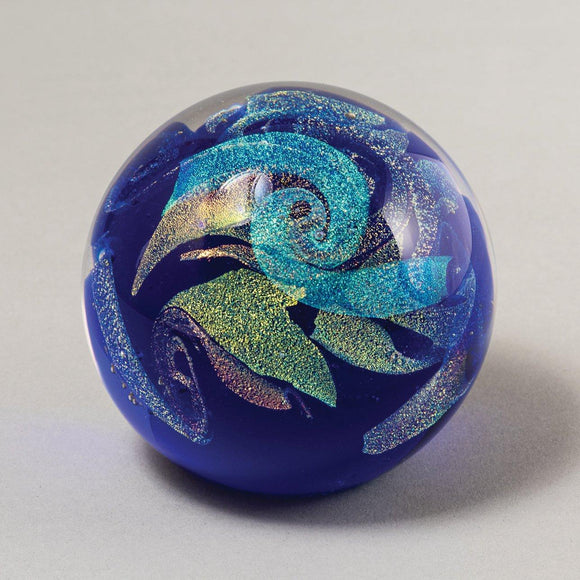 Northern Lights Celestial Paperweight