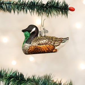 Old World Christmas Canada Goose Ornament