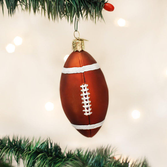 Old World Christmas Football Ornament