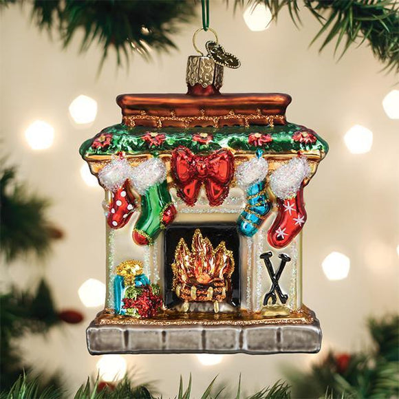 Old World Christmas Holiday Hearth Ornament