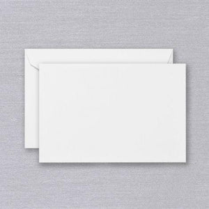 Crane Paper Pearl White Kid Finish® Boxed Cards