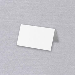 Pearl White Place Cards