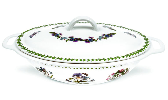 Portmeirion Botanic Garden Covered Oval Casserole