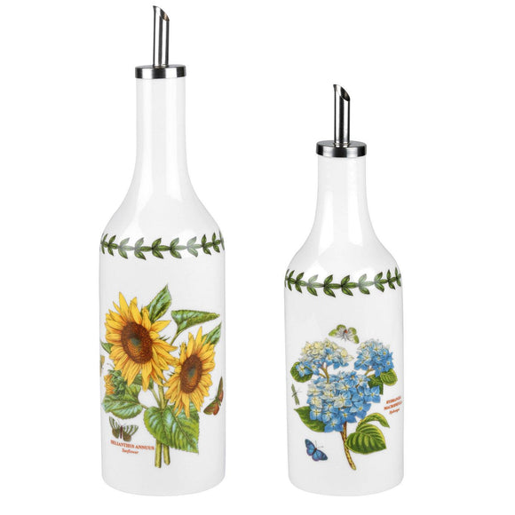 Portmeirion Botanic Garden Oil and Vinegar Drizzler Set