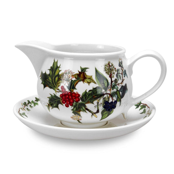 Portmeirion The Holly and The Ivy Gravy Boat