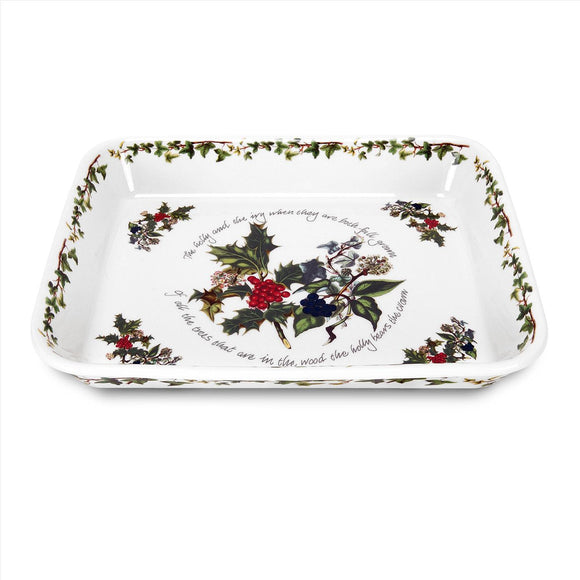 Portmeirion The Holly and The Ivy Lasagne Dish