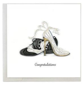 Quilled First Dance Greeting Card