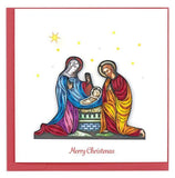 Quilled Nativity Scene Christmas Card