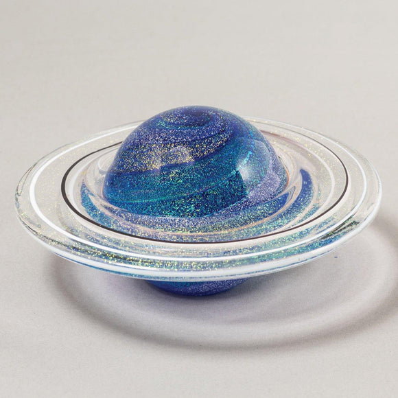 Rings of Saturn Planetary Paperweight