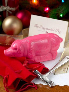 Saratoga Sweets Peppermint Pig