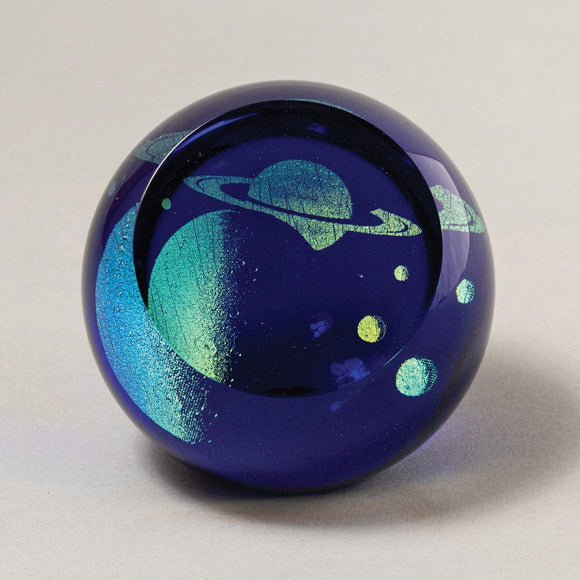 Saturn Planetary Paperweight
