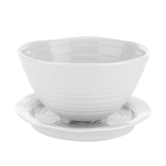Sophie Conran for Portmeirion White Berry Bowl and Stand