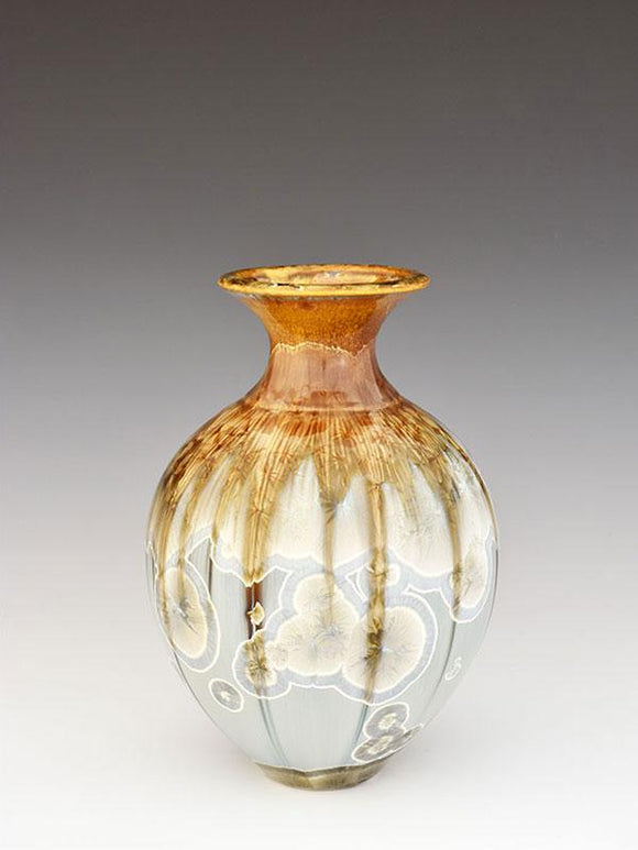 Stellar Pottery Sweet William Vase New Glaze Light