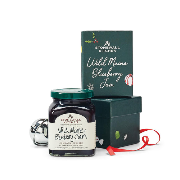 Stonewall Kitchen Holiday 2020 Blueberry Jam Gift