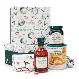Stonewall Kitchen Holiday 2020 Farmhouse Breakfast Gift Set