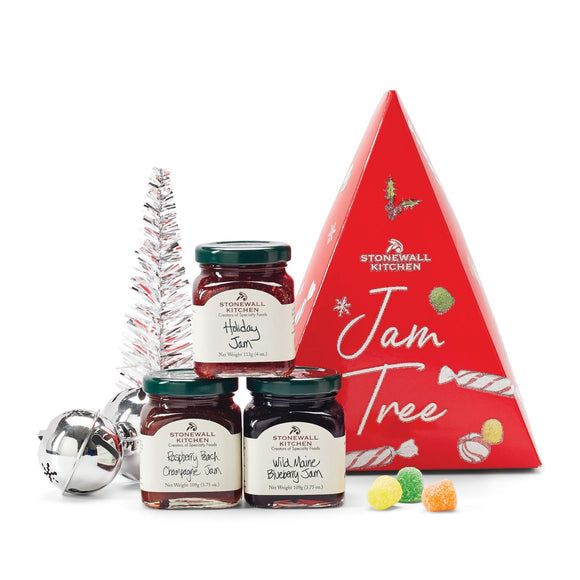 Stonewall Kitchen Holiday 2020 Jam Tree Gift Set
