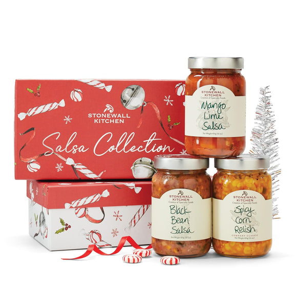 Stonewall Kitchen Holiday 2020 Salsa Collection