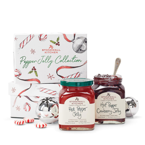 Stonewall Kitchen Holiday 2020 Pepper Jelly Collection