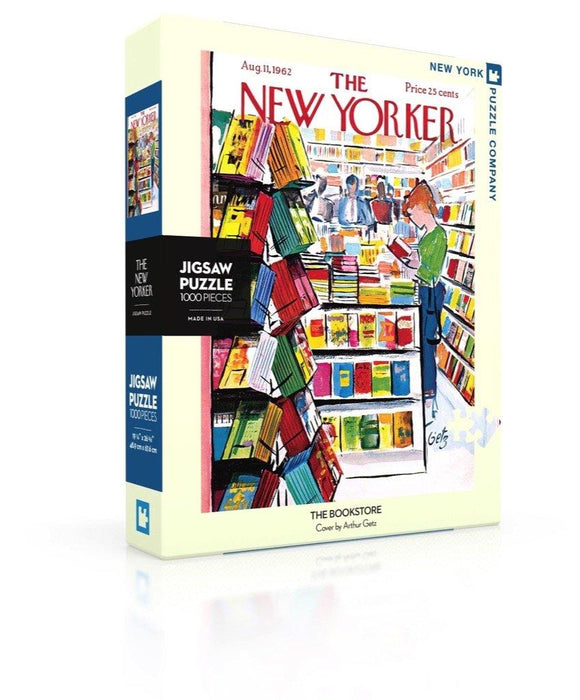 The New Yorker The Bookstore Puzzle