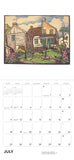 Arts & Crafts Block Prints by William S. Rice 2021 Wall Calendar