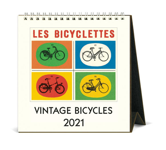 Vintage Bicycles 2021 Easel Calendar