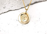 Athletic Necklace Gold