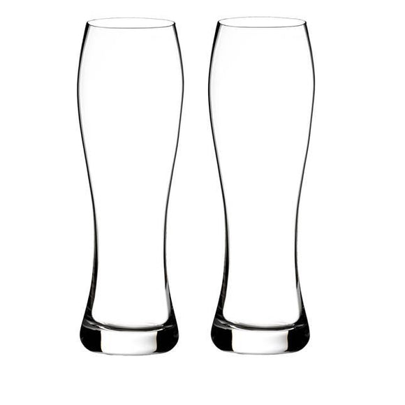 Waterford Elegance Lager Beer Glass Pair