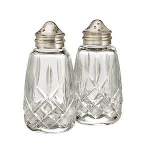 Waterford Lismore Salt and Pepper Shakers 4 Inch