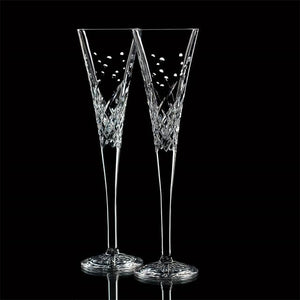 Waterford Wishes Happy Celebrations Toasting Flutes
