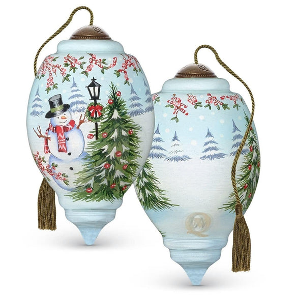 Winter Scene Ornament
