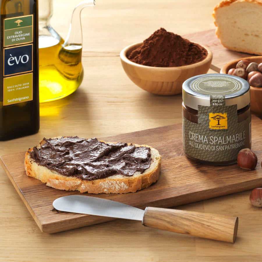Crema spalmabile all'olio EVO 250g