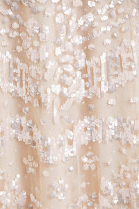 Anais Sequin Ballerina Dress - Pink